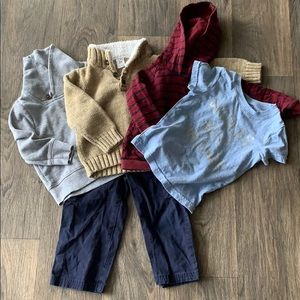 5 for $12 Boys Old Navy Carters Sweater Bundle
